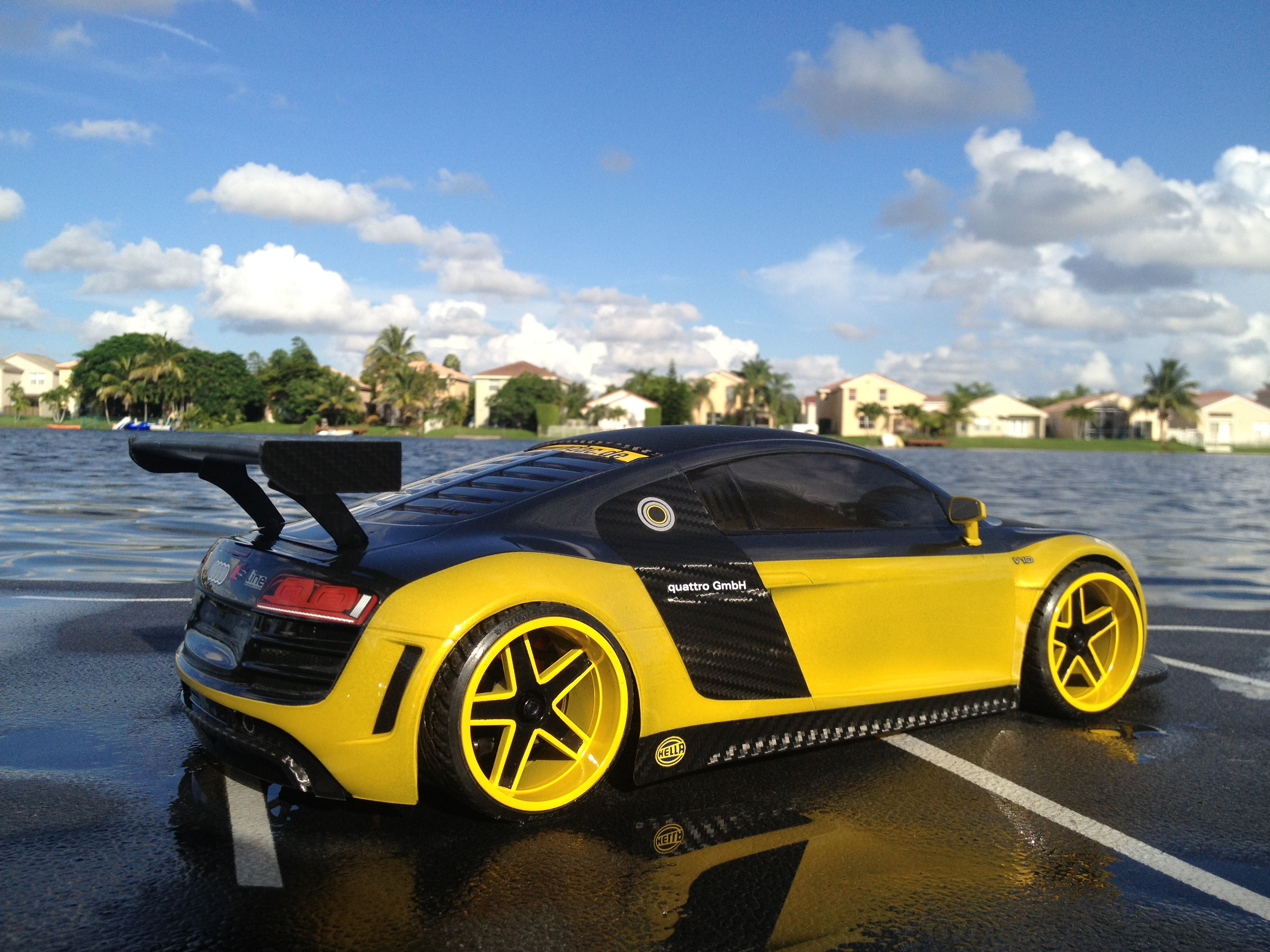 custom rc audi r8 designs tamiya 190mm rtr