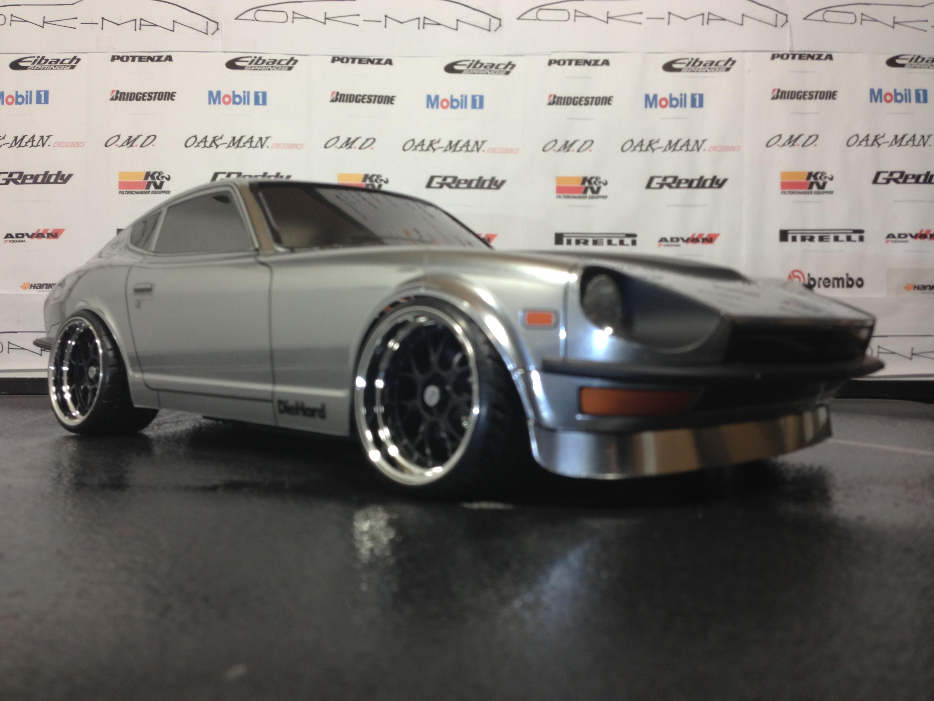 Tamiya 190mm Datsun Nissan 240Z | Oak-man Designs