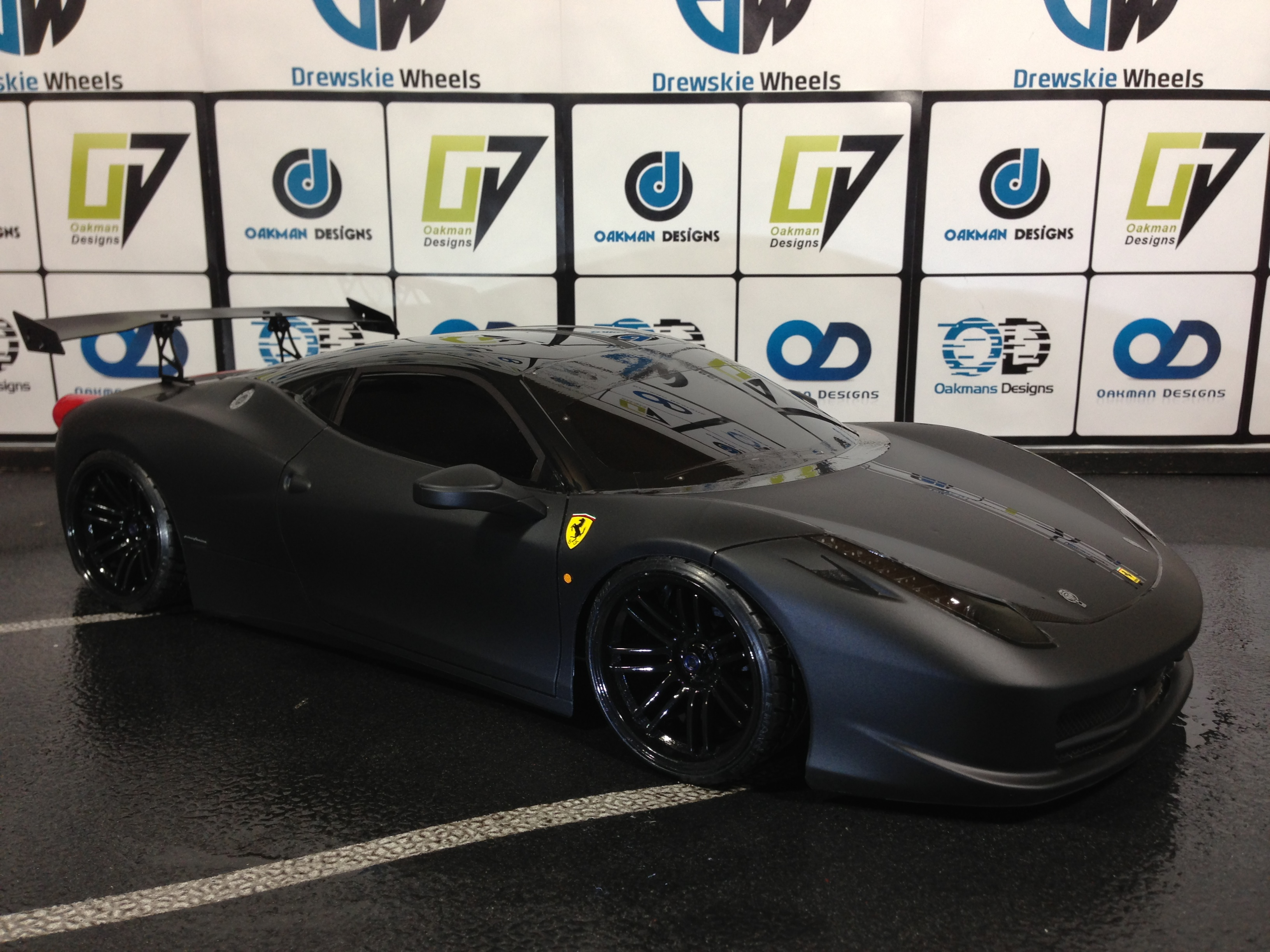 Ferrari 458 Challenger Oak Man Designs