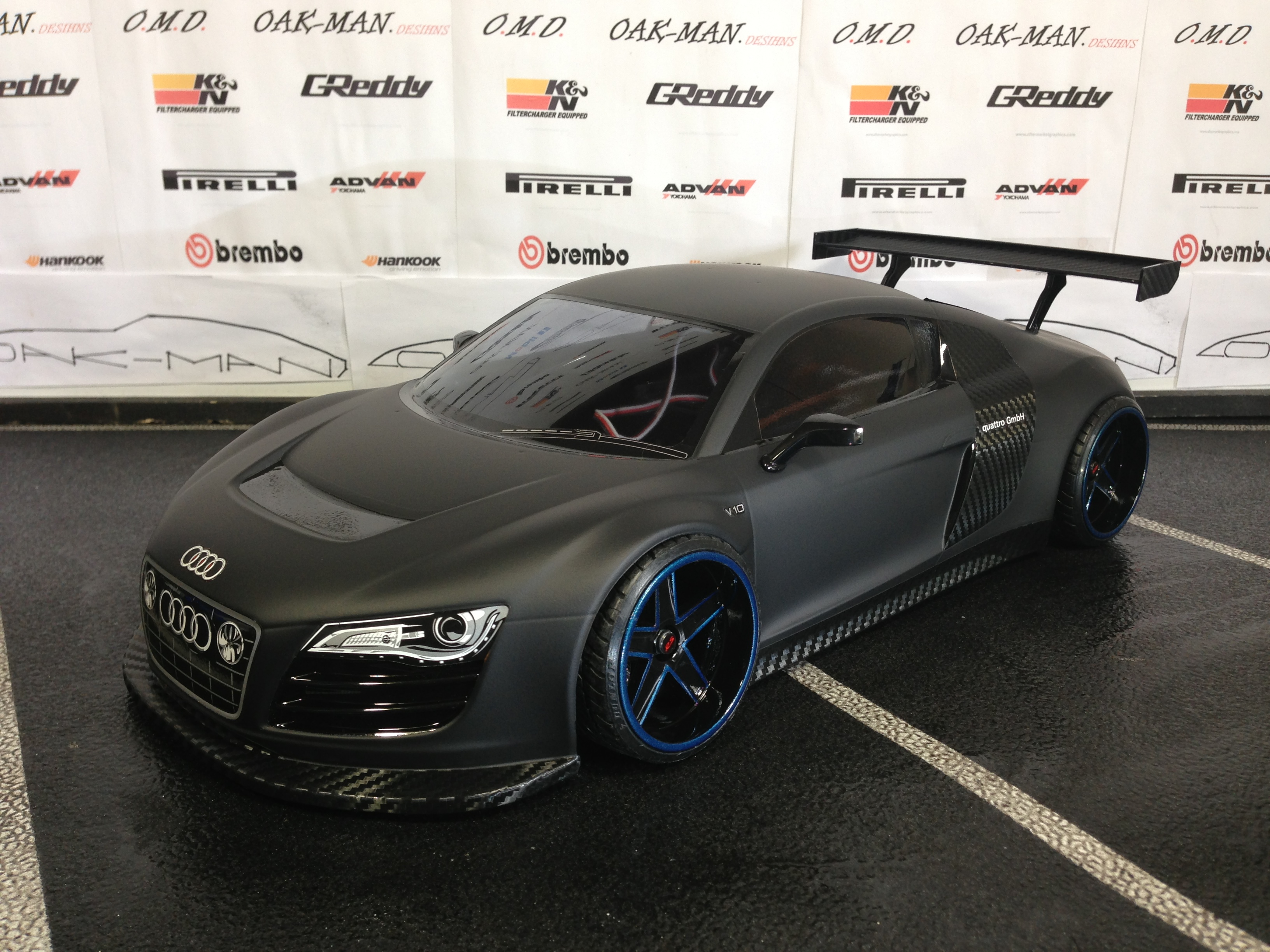 Audi R8 Matte Black Tumblr