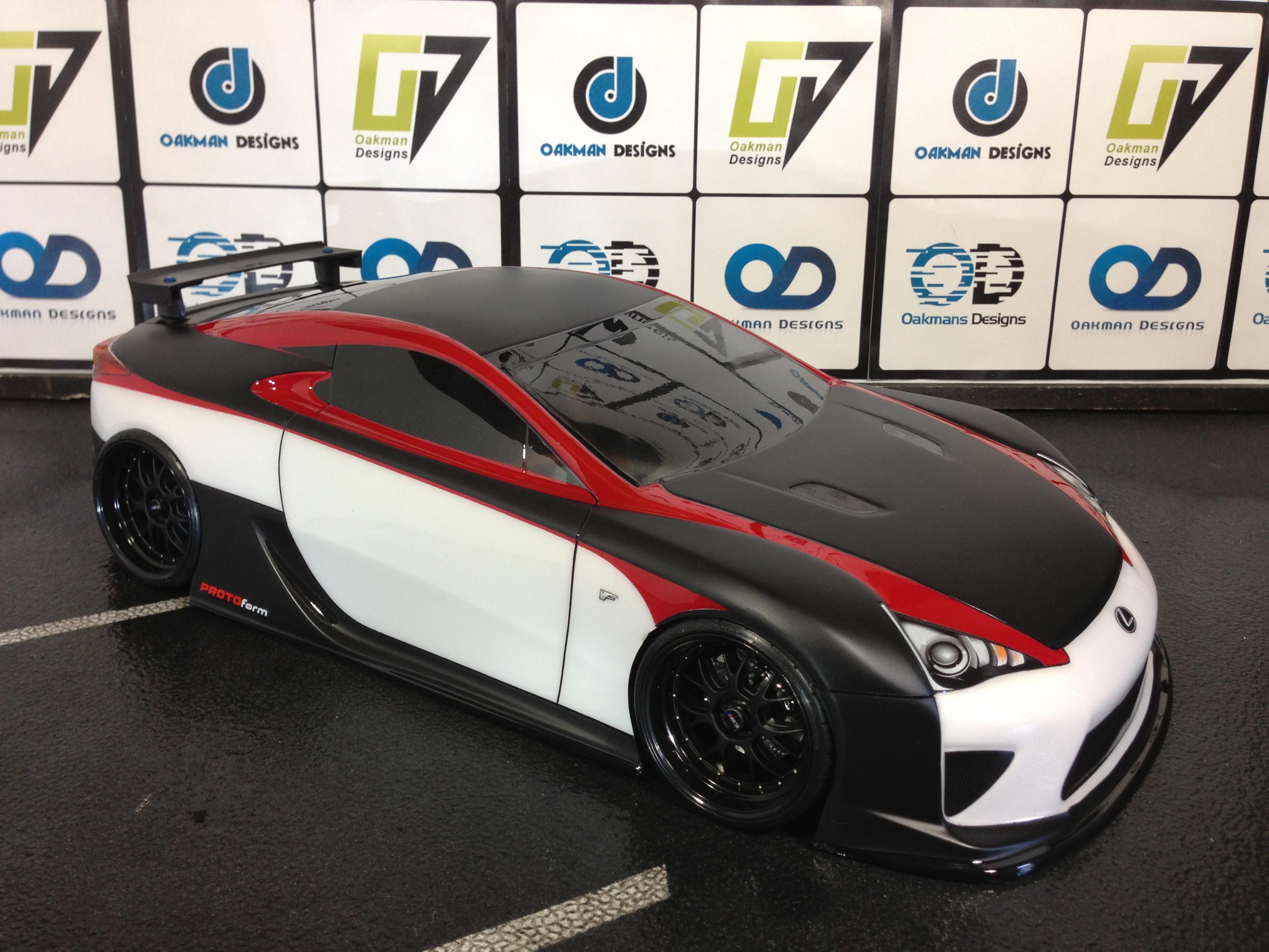 Lexus Lfa Oak Man Designs