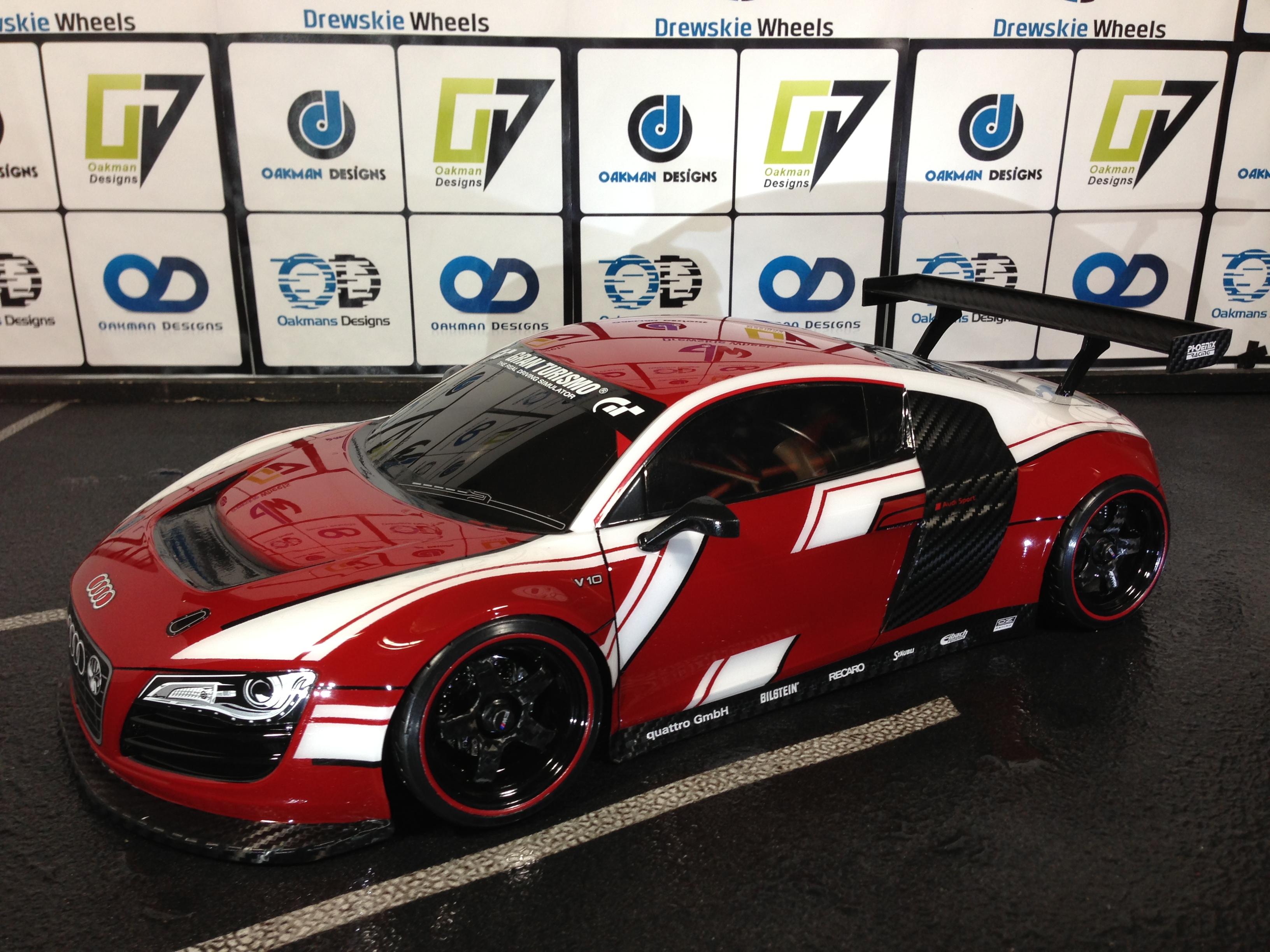 Audi R8 Oak Man Designs