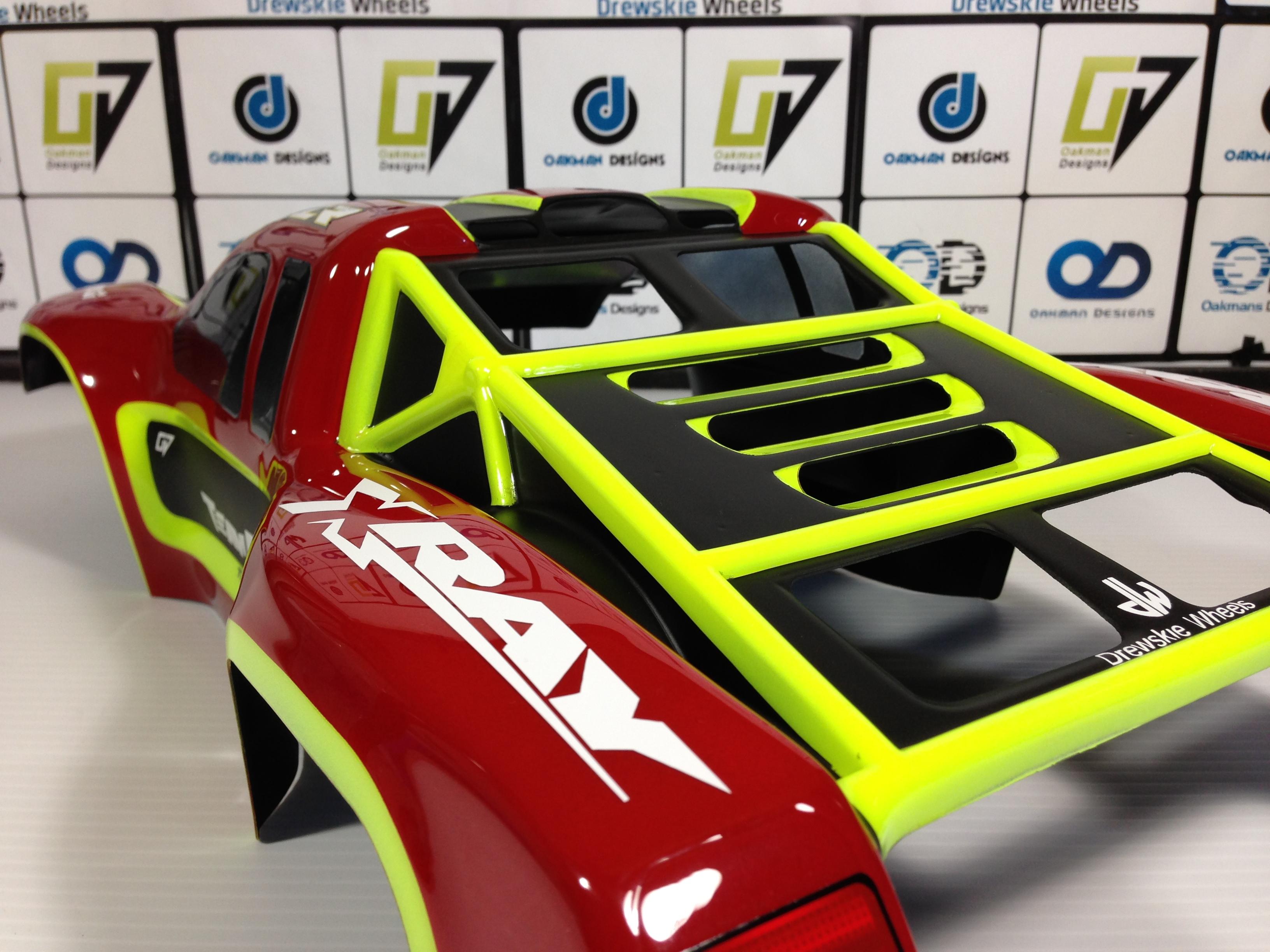 Team Losi TLR 22SCT, SCT, SCTE, Body | Oak-man Designs