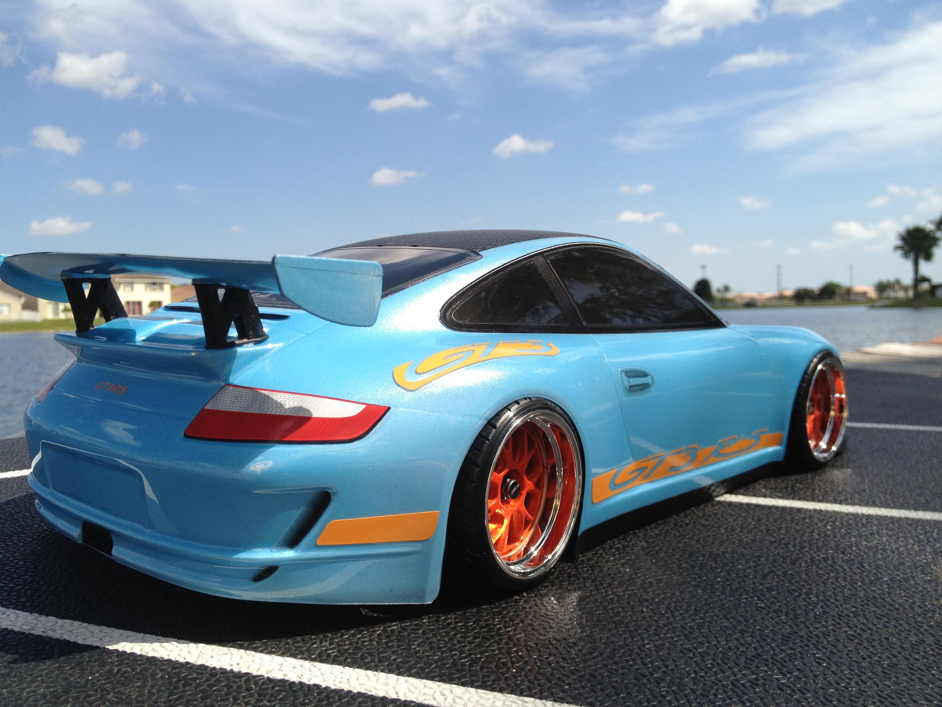 Porsche 911 Gt3 Rs Oak Man Designs
