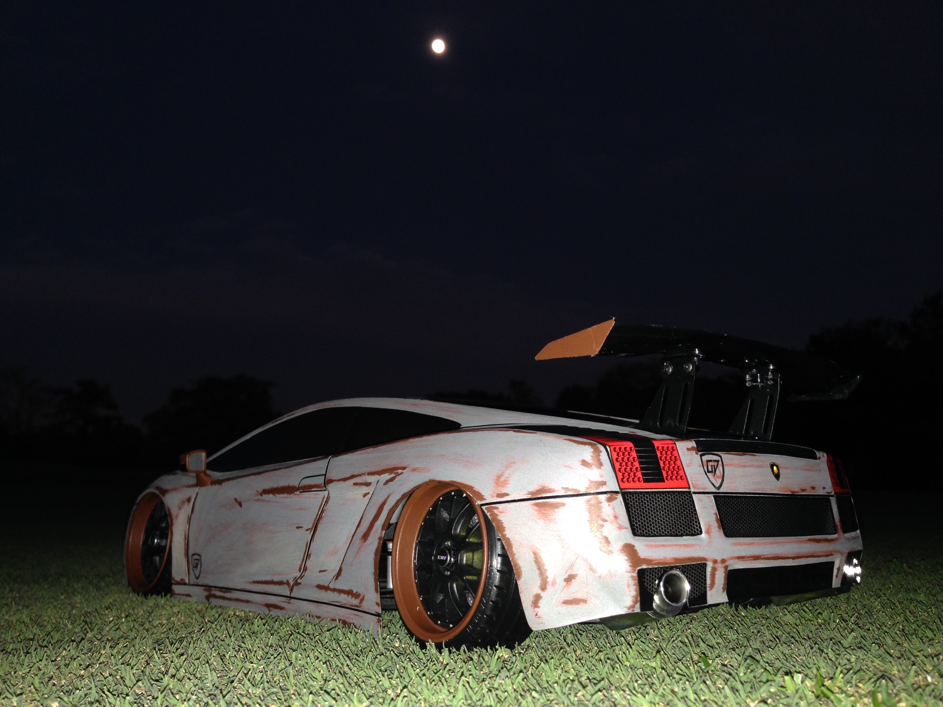 Pro Line 200mm Lamborghini Gallardo Rusty Rat Rod