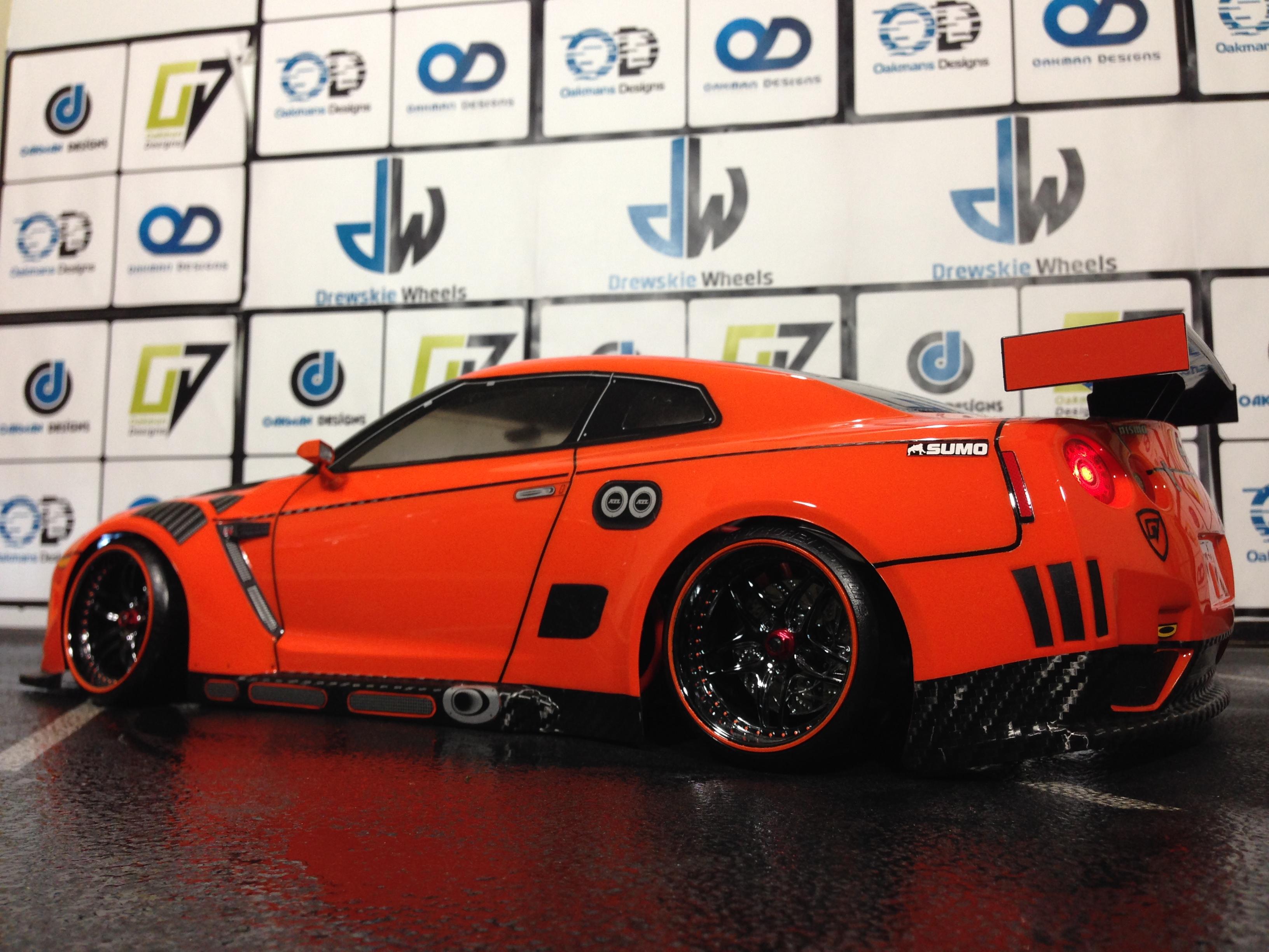 Nissan Gtr Oak Man Designs