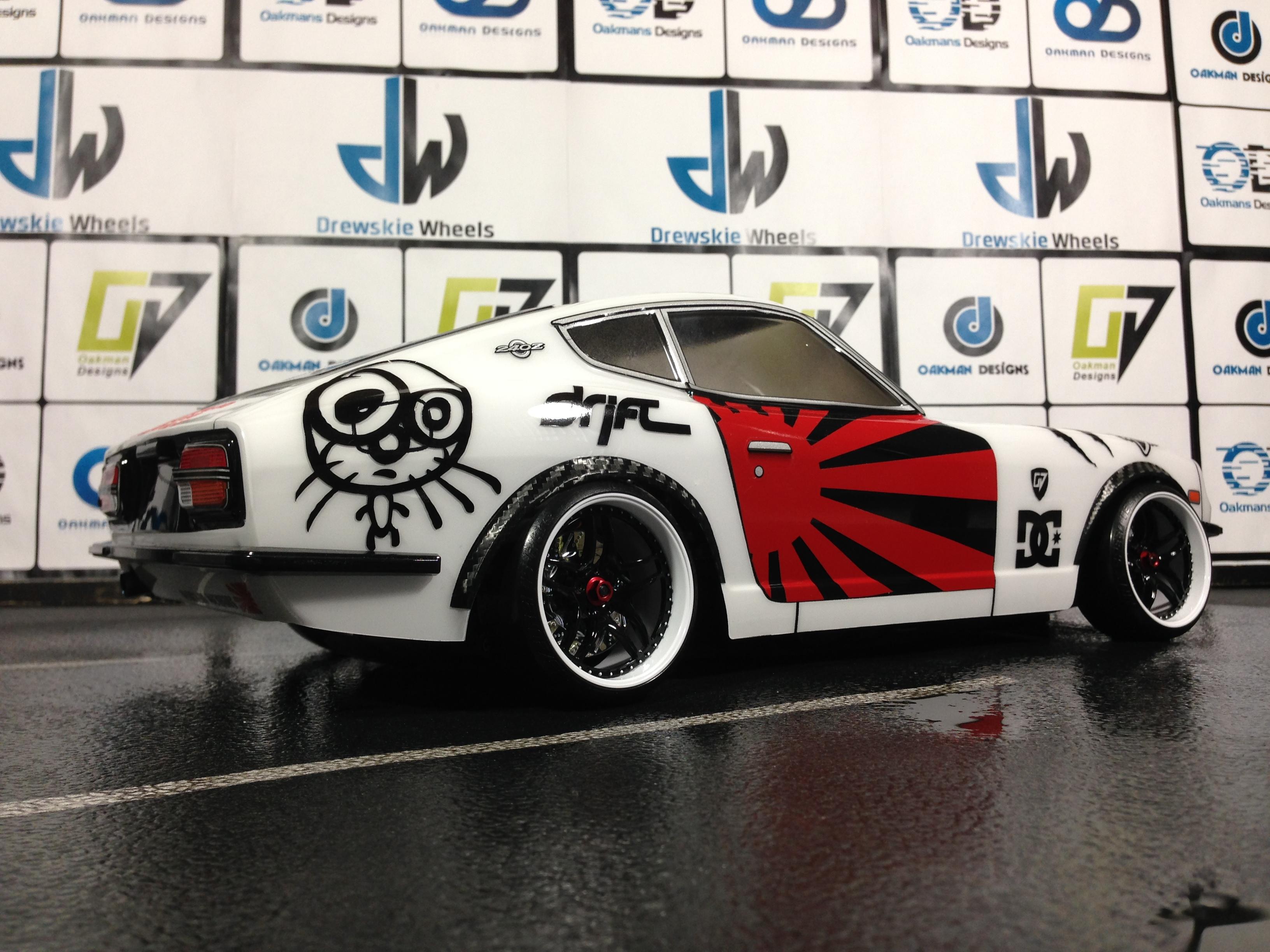 Custom Tamiya 190mm Datsun 240z R/C Drift Car | Oak-man ...