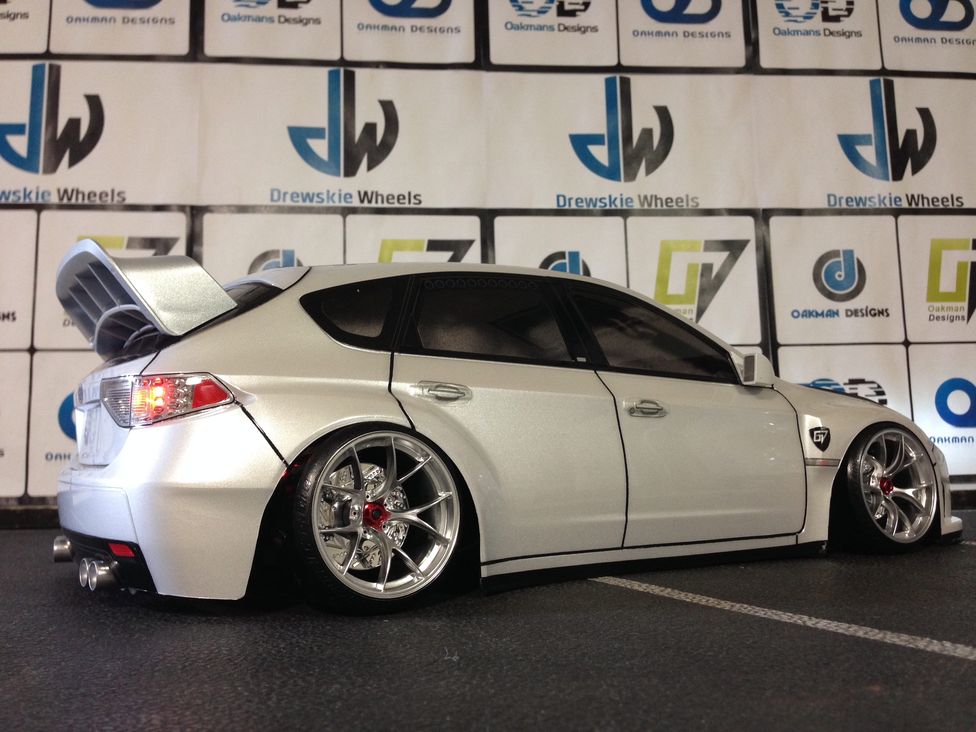 Subaru Impreza Wrx Sti Oak Man Designs