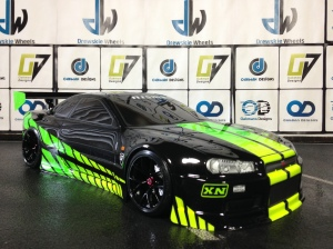 Green and black r34 094