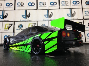Green and black r34 106