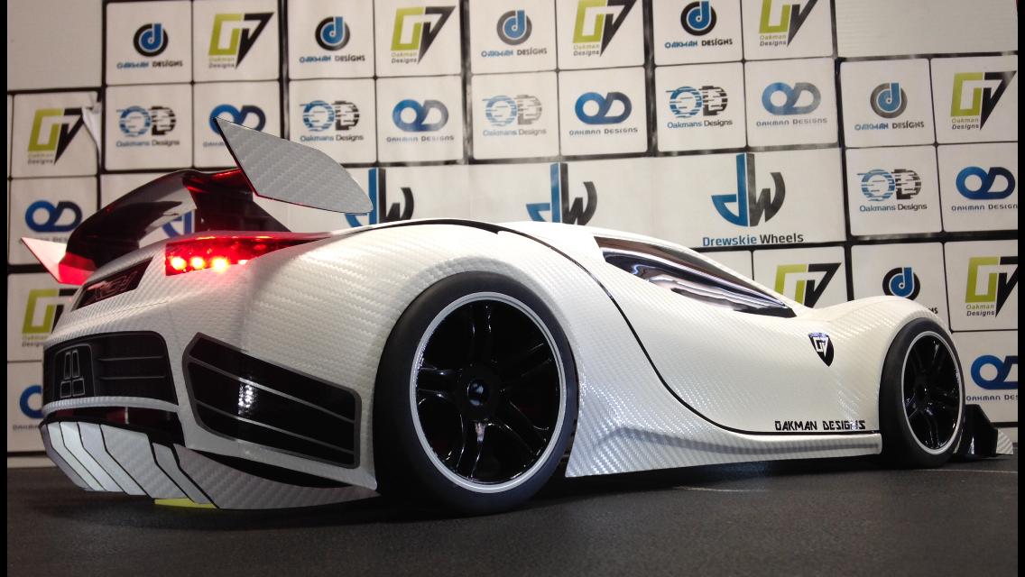 white carbon fiber traxxas xo 1 body shell  Oakman Designs  Page 2