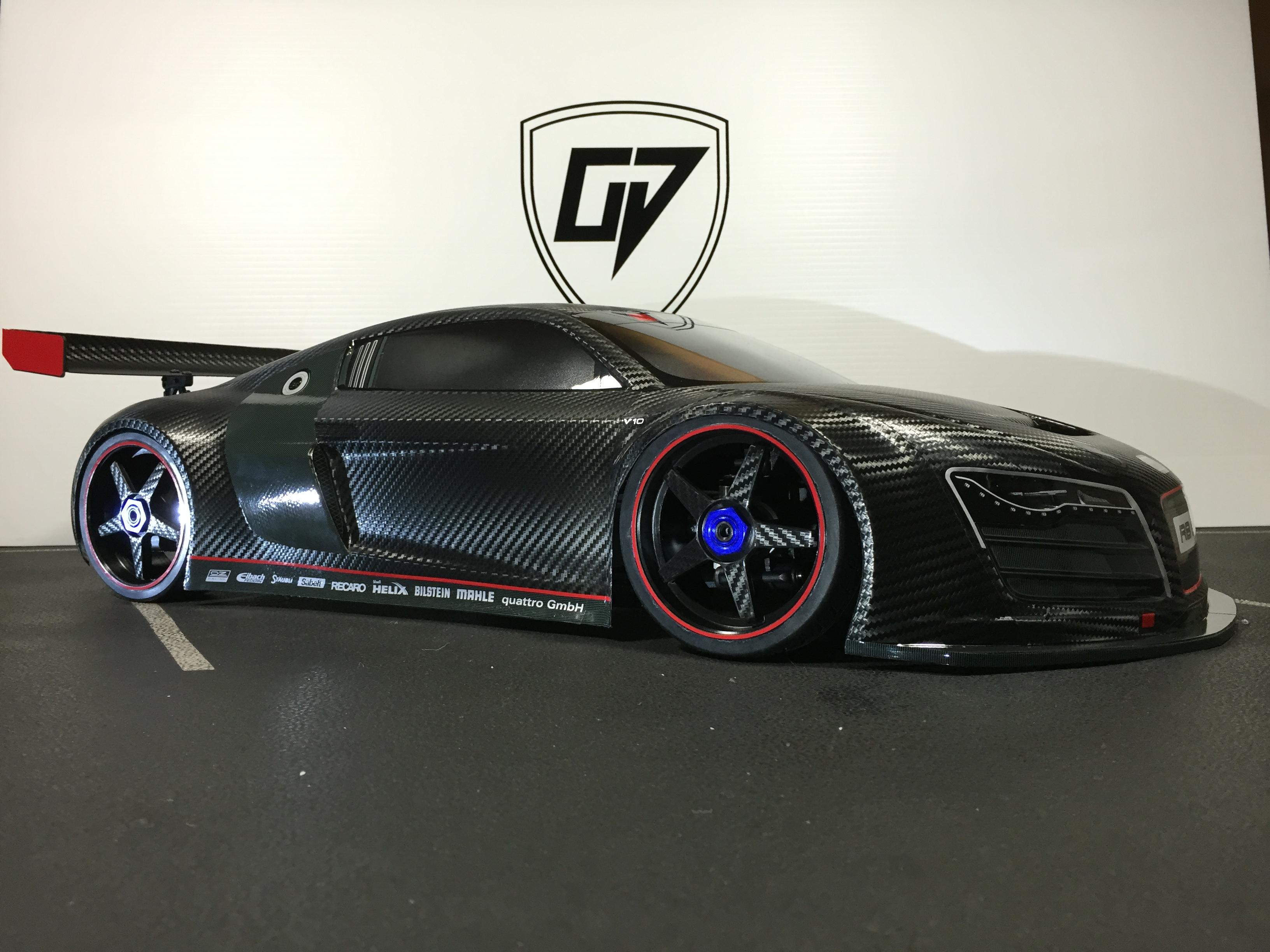 Kyosko Audi GT2 Audi R8  Oakman Designs