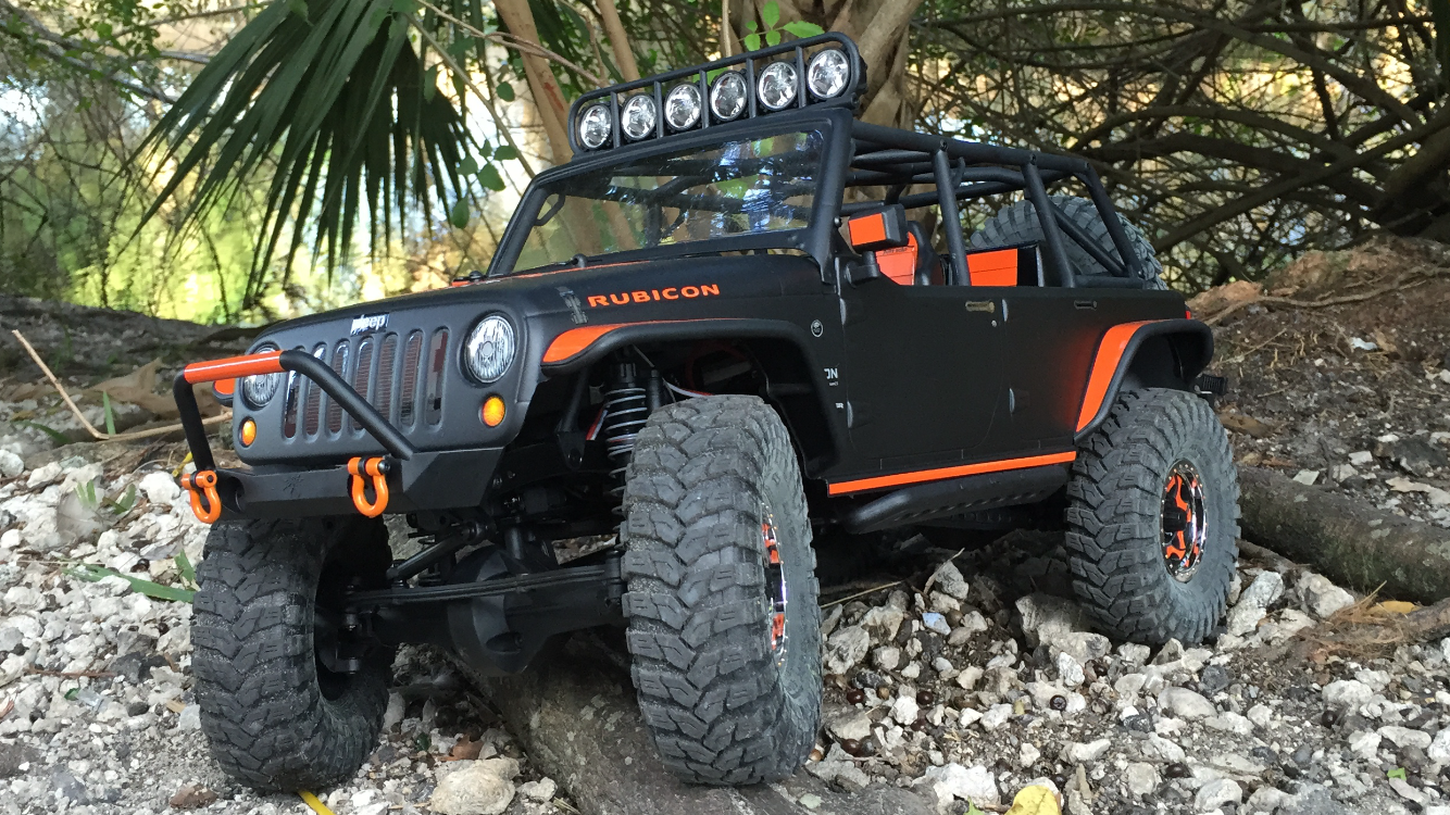 Axial Jeep Wrangler Rubicon : Axial scx jeep wrangler rubicon custom body