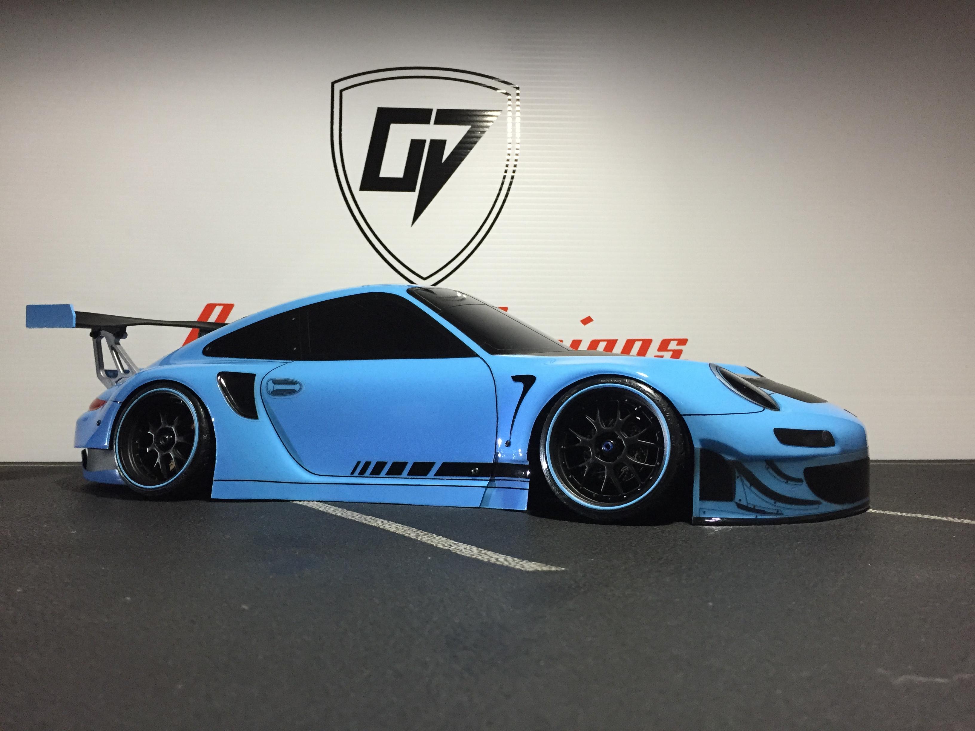 009 Stunning Porsche 911 Gt2 Body Kit Cars Trend