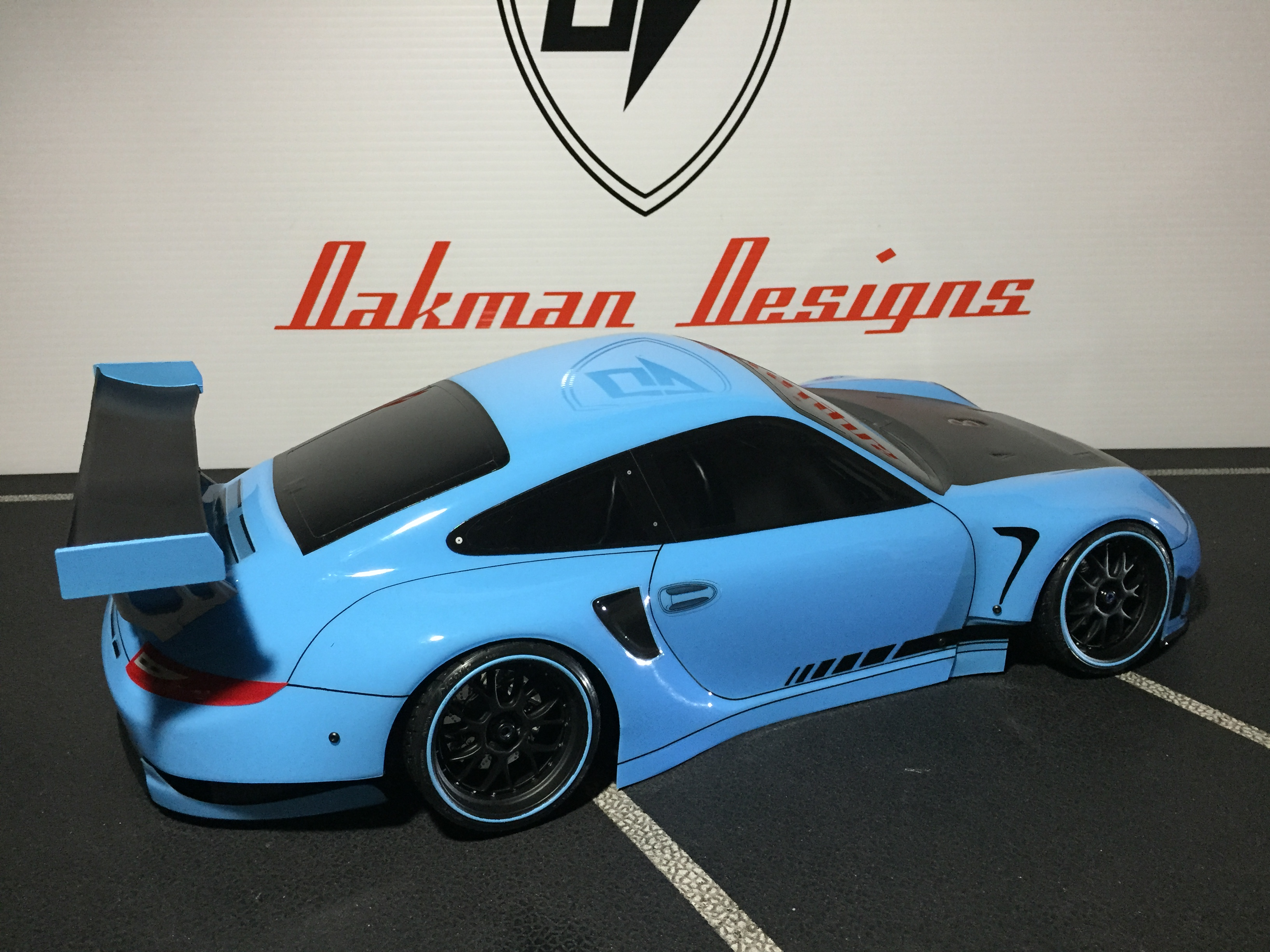 Porsche 911 Gt3 Rsr Oak Man Designs