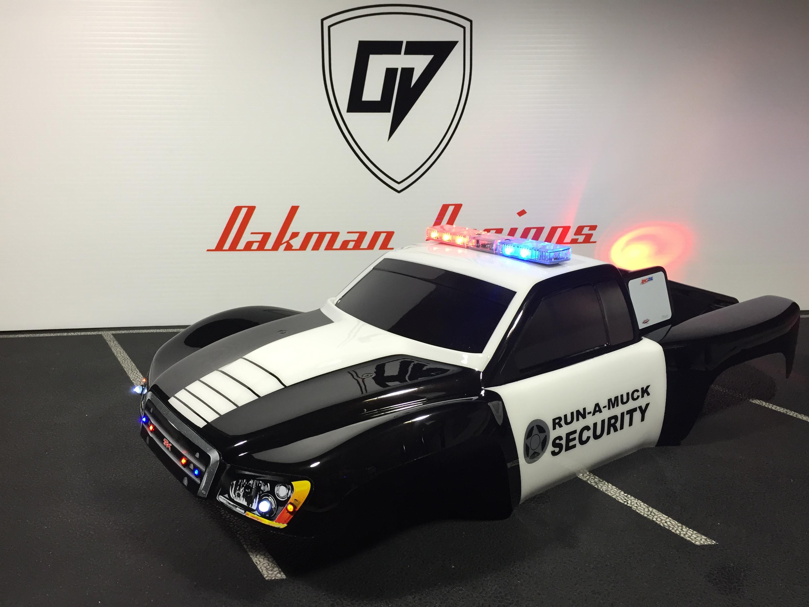 Custom police rc car body oak man designs 415 aloadofball Images