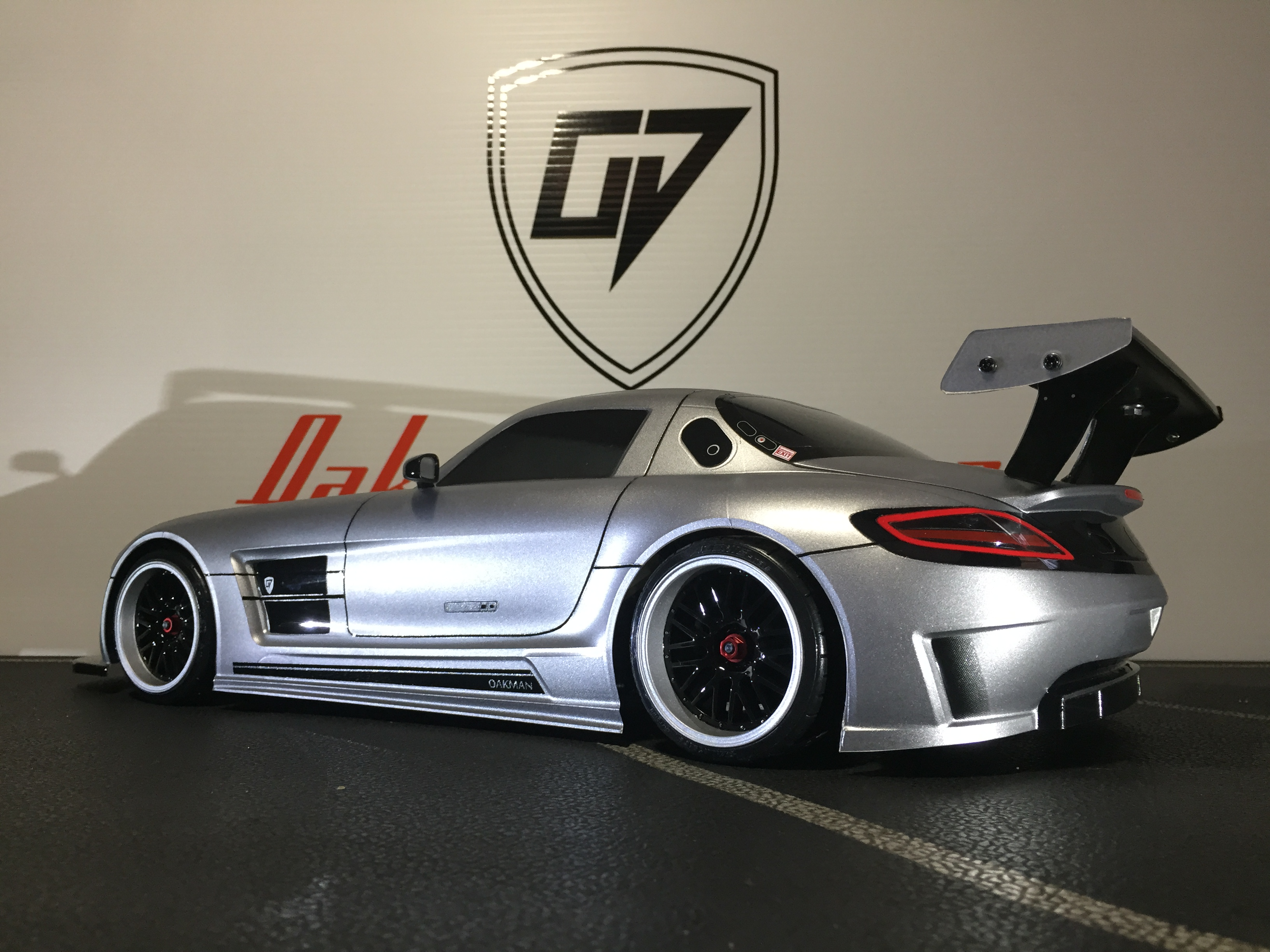 Mercedes Benz Sls Amg Gt3 Oak Man Designs